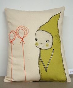 pillow.characters...this would give me so many nightmares