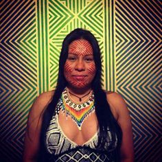Maial Paiakan Kayapo is the daughter of the well known leader Paulinho Paiakan of the Kayapo people in the southern basin of the Amazon rain forest.  Maial is also the daughter of Civiliti Champion and EcoArtist Irekran Paiakan Kayapo.  Maial has benefited from Civiliti's support directly.  Civiliti has supported Maial in her legal education and she has now graduated law school in Brazil. Support for Civiliti is an investment in support of indigenous peoples. Amazon Rainforest, Law School, Basin, Investing, Champion, Southern, Daughter, Artists, Education