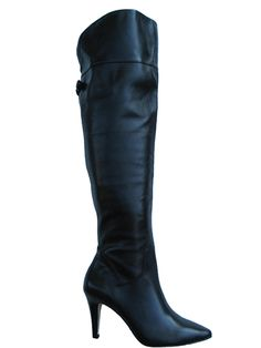 Ros Hommerson Women's Shirley Super Wide Calf™ Over-the-Knee Boot (Black)