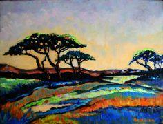 Champs joyeux 3 huile sur bois Contemporary Landscape, Contemporary Artists, Champs, Art En Ligne, Galerie D'art, Art Original, Landscape Paintings, Landscapes, Oeuvre D'art