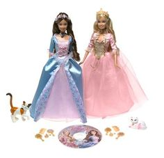 I watched the movie Barbie Princess and the Pauper so now I want the dolls.