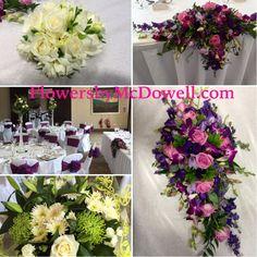 Some of Katie's wedding flowers