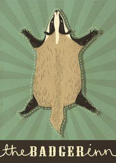 Poor badger
