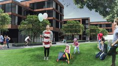 collective housing on Behance