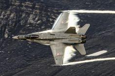 McDonnell Douglas F/A-18C Hornet J-5019 Swiss Air Force