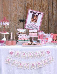 Pink Cowgirl Birthday Party {Guest Feature} — Celebrations at Home