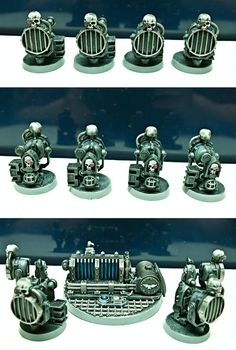 Forge World, Imperial, Imperial Guard, Power Generator, Pylons, Searchlights, Vox Casters