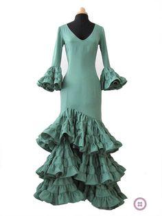 como hacer vestido flamenca Parte III. Cómo hacer la Falda de un Vestido de Flamenca