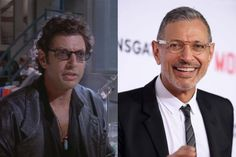 Then and Now: Jurassic Park Dr Ian, Celebrities Then And Now, All Grown Up, Classic Films, Jurassic Park, Plastic Surgery, Movies And Tv Shows, Actors & Actresses, Singers