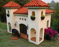 Now that's a dog house!
