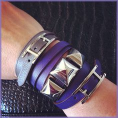 DIY inspiration: CDC (Collier de Chien) cuffs from Hermès
