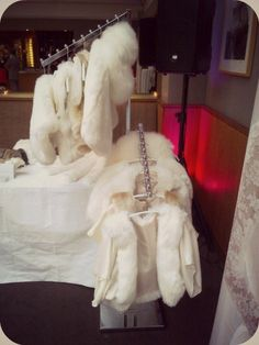 Bridal Faux Fur Capes, Jackets, Shrugs and Stoles by Blanche in the Brambles