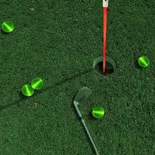 Night Golf Supplies Golf Flag, Glow Sticks, Balls, Led, Night