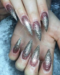 """72 Likes, 1 Comments - Elize Beauty (@elizebeauty) on Instagram: """"Ombre glitter nails created using ✨Adore✨ @glamandglitsnails from @nails_by_annabel_m & ✨Anastasia✨…"""""""