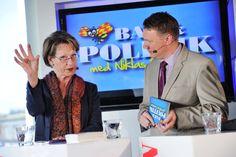 Gudrun Schyman har varit med i programmet flera gånger.