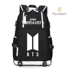 Everyday is a KPOP day... check this out: BTS New Logo ARMY... It's selling fast! http://thekdom.com/products/bts-new-logo-army-backpack?utm_campaign=social_autopilot&utm_source=pin&utm_medium=pin
