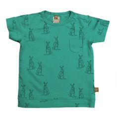 In love! Turquoise t-shirt -lötiekids