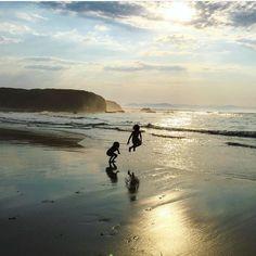 """""""Adorro Jalisia"""" y hoy me vais a permitir que presuma de playas maravillosas a través de la galería de @elmardelnorte que es pura vida.  Foto destacada por @xanelachic  #conmiradademadre"""