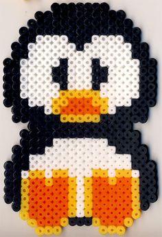 Penguin perler beads by kukina_kat