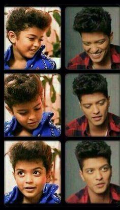 Baby Bruno and big Bruno