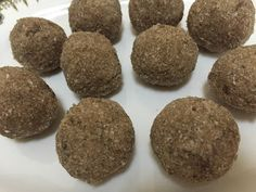 Rice Flakes Balls / Aval Unda/ Aval Laddoo Ingredients Aval / Rice flakes cup cup or to Rice Flakes, Balls, Muffin, Cookies, Breakfast, Desserts, Food, Crack Crackers, Morning Coffee