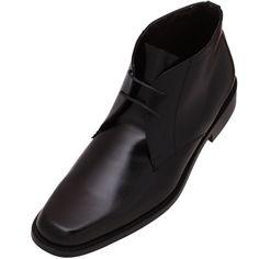 #Zapatos #Evolución en botin para Hombre color Negro . Un calzado para vestir que se ajusta al gusto más exigente. Piel 100% natural con suela de cuero. Precio $1,100
