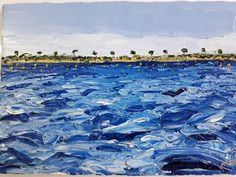 Blue Painting, Oil Painting On Canvas, Oil Paintings, Irish Art, Canvas Board, Blues, Spain, The Originals, Awesome