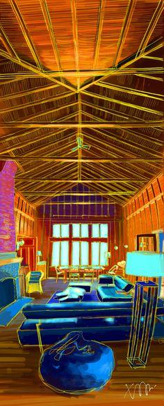 U's unique cottage by Pigeon Lake, Bobcaygeon - iPad Pro + Sketch Pro (by Autodesk)