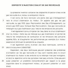 Brevet Renault, injection d'eau et moteur GP - Page 13