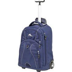 High Sierra Freewheel Wheeled Backpack, Blue