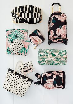 Emily & Merrit Spring travel luggage/accessories