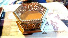Vintage Jewelry Casket Matson Jewelry Box Gold by OodlesofBling