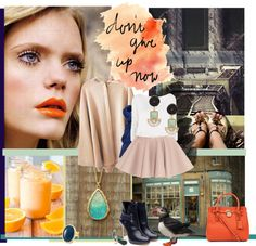 Today I feel - summer is really gone, despite sun is shining, the mood is different, its lazy and orange :-P its whispering goodbye. Orange, Polyvore, Clothes, Fashion, Outfits, Moda, Clothing, Fashion Styles, Kleding