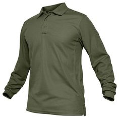 c30bcc0f Men's Military Tactical Long Sleeve T-Shirt Army Combat Shirt Quick Dry  Long Sleeve Tactical Polo Tee Shirt Men's Casual Clothes - 4 Colors