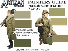 Soviet Uniform Painting Guide