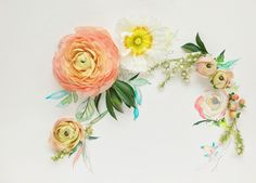 DIY Spring Wedding Bouquet, step by step guide