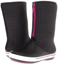 botas Crocs en color negro para la lluvia 2013