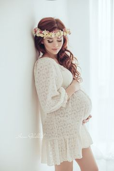 Maternity gown dress