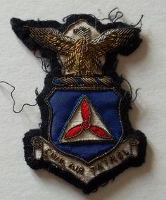 Civil Air Patrol Bullion Patch