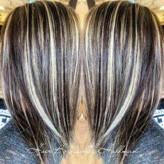Highlights On Ash Brown Hair -