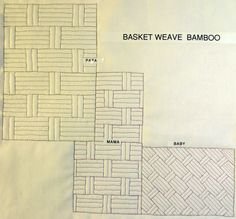YouTube sample showing how to create a basket weave or bamboo background using the Ultimate Background stencils.
