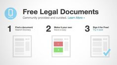 Docracy is a free web service that not only provides legal documents for anything from a non-disclosure agreement to an apartment lease (and more), but it also lets you sign the documents as well. It's expensive to hire a lawyer when you need a legal document drafted, but you don't want to craft an agreement that won't hold up. While an actual lawyer will almost always be a better option than modifying an existing legal document from a database, if you're on a budget or just ne…
