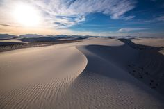 White Sands National Monument, New Mexico (pinned by haw-creek.com)