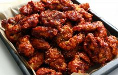 Korean Fried Chicken (Yangnyeomtongdak)