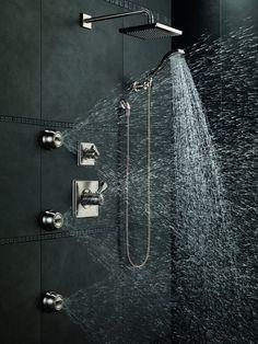 Atlantis 27 Large 12 Stainless Steel Rain Shower Head
