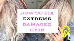 How to repair VERY damaged hair! Bleach Damaged Hair, Bleached Hair Repair, Damaged Hair Repair, Fashion Kids, Damaged Hair Remedies, Overprocessed Hair, Best Hair Conditioner, Split Ends Hair, Breaking Hair