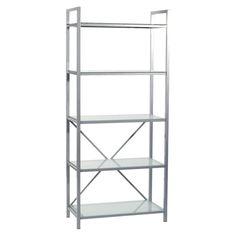 Have to have it. Euro Style Madrid 5 Shelf Unit Bookcase - $250 @hayneedle.com