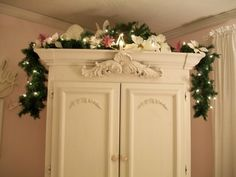 .......I need to embellish a cabinet. Wooden or resin appliqués.