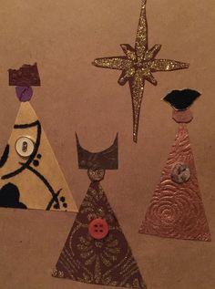 Los Tres Reyes Magos Tarjeta  Diseño- LM