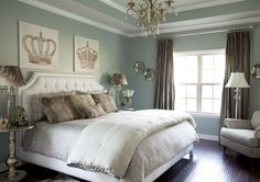Sherwin Williams Silver Mist Paint Color~ our master bedroom & bath color. Love!